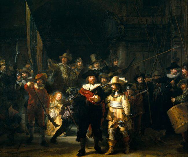 Die Nachtwache (1642) - Bildquelle: wiki:pd