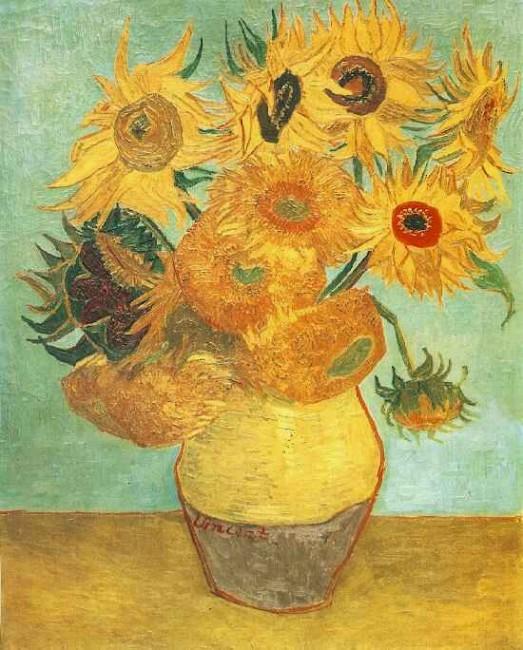 12 sonnenblumen