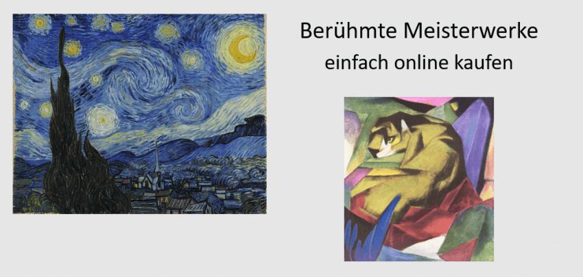 beruehmte kunstwerke meisterwerke online