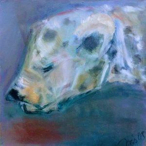 hyaene abstrakte kunst kaufen