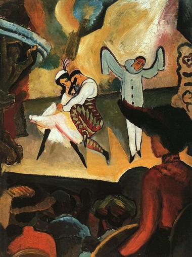 russisches-ballett-august-macke