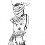 figuren kunst-meissen-zeichnung-iris-hilpert