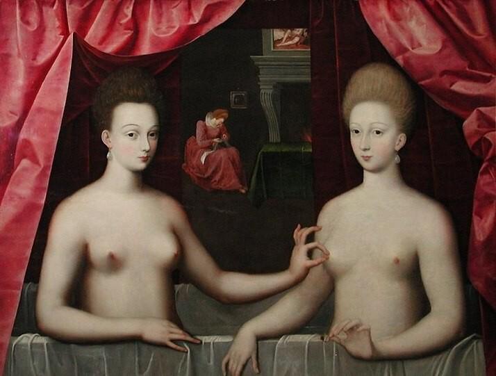 portrait-der-gabrielle-destrees-und-einer-ihrer-schwestern